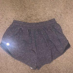 """lululemon athletica Shorts - Lululemon Grey Hotty Hot Short 2.5"""""""
